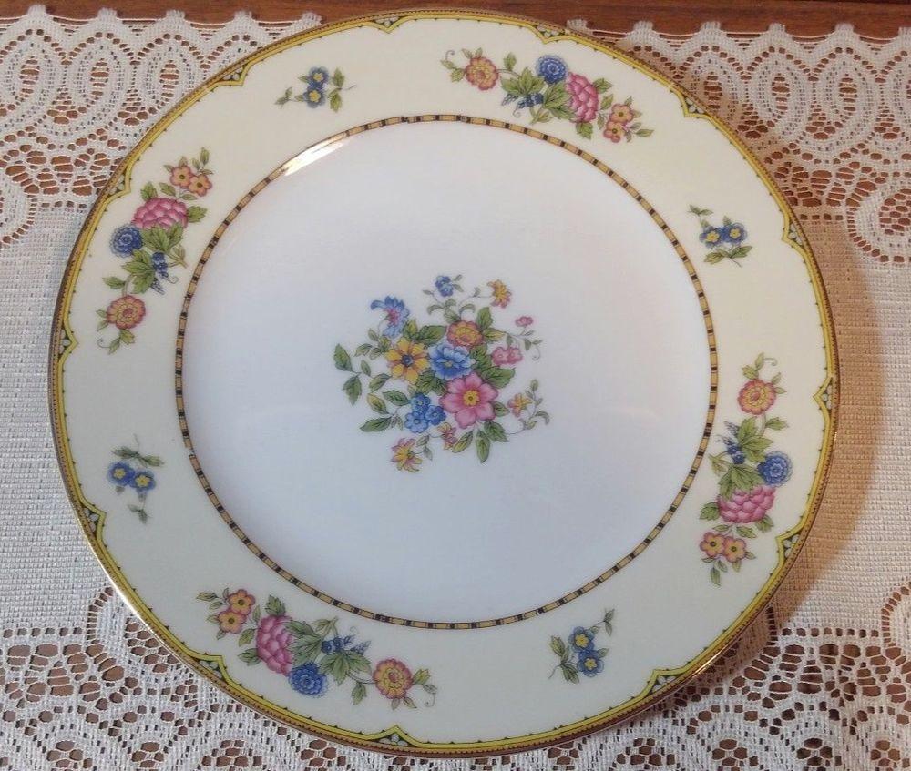 Antique Noritake Replacement China. Elysian Pattern. 10in. Dinner Plate. & Antique Noritake Replacement China. Elysian Pattern. 10in. Dinner ...