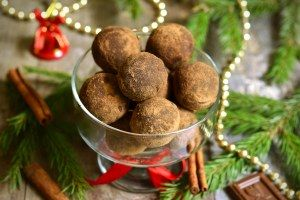 Nos recettes de truffes au chocolat pour Noël