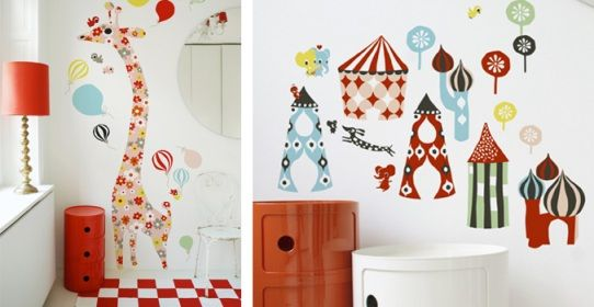 Paredes decoradas con vinilos y láminas de Littlephant Baños - paredes decoradas