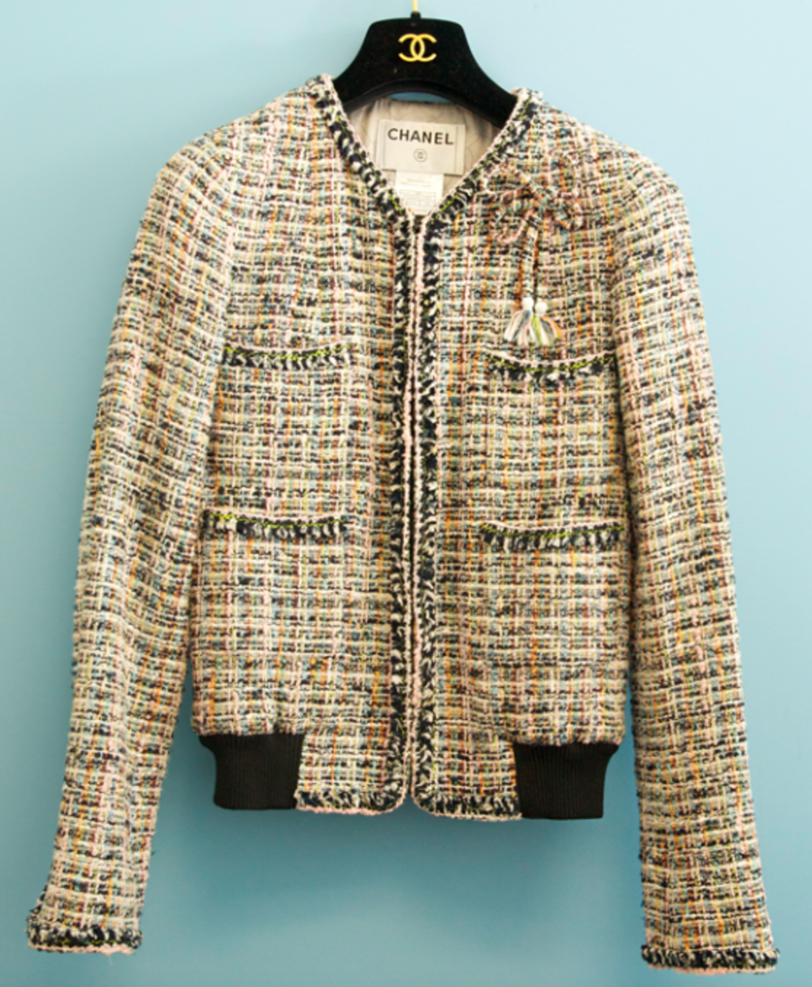 Chanel Jacket Chanel Jacket Chanel Tweed Jacket Chanel Style Jacket [ 1094 x 900 Pixel ]