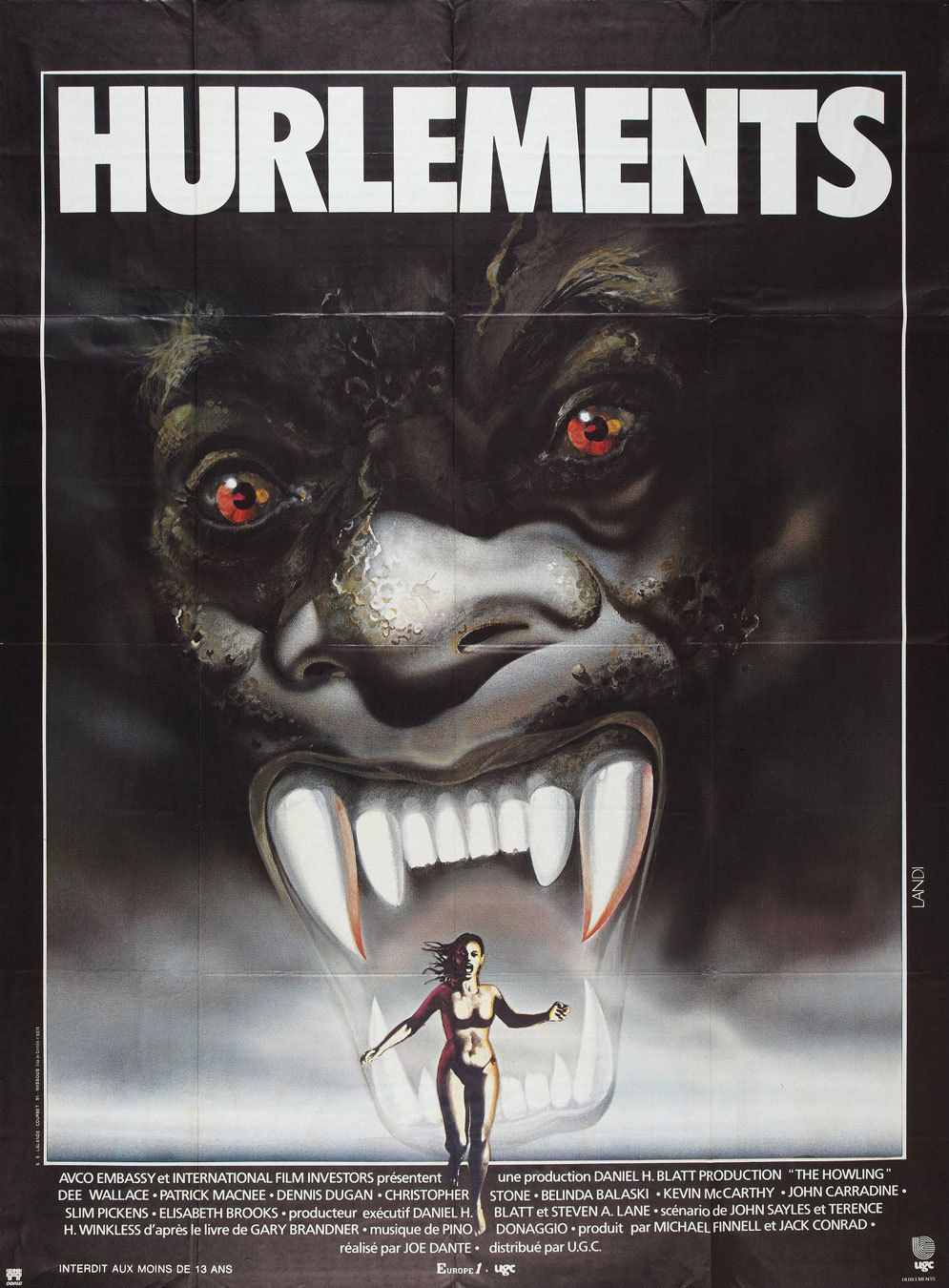 Movie Poster of the Day Movie posters, The howling