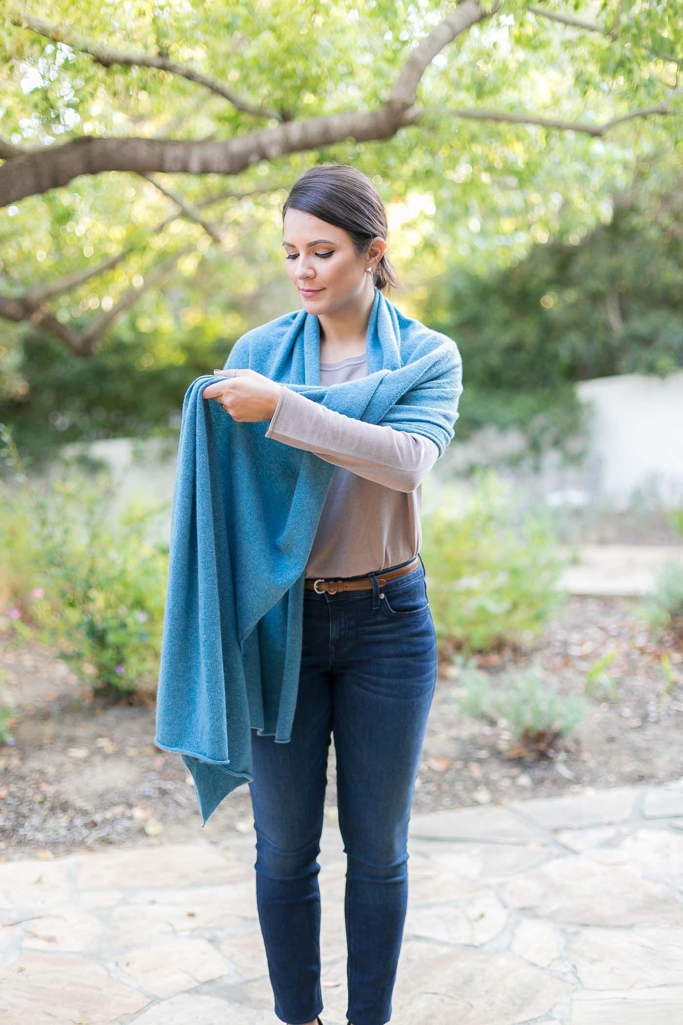 4 ways to tie a scarf how to wear pashmina how to wear