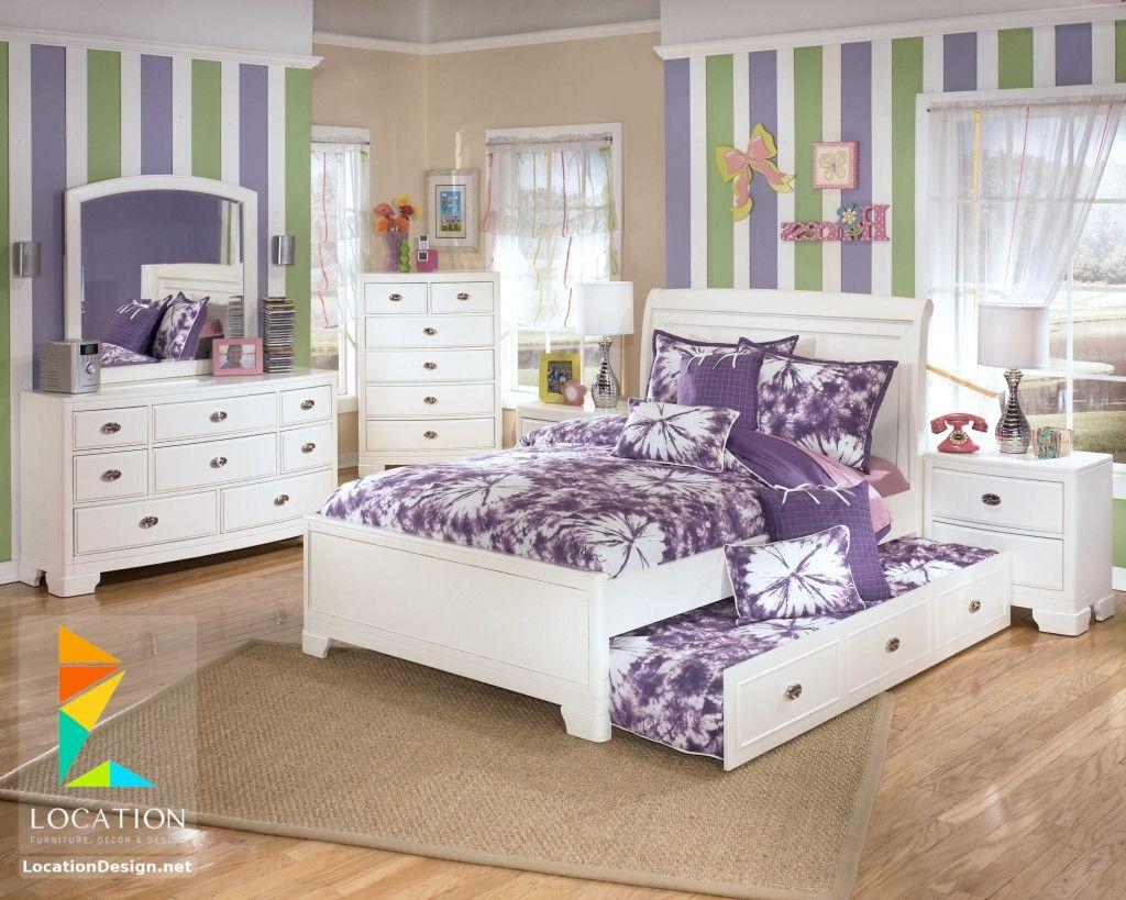 ديكورات غرف نوم صغيرة وبسيطة لوكشين ديزين نت Kids Bedroom Sets Ashley Bedroom Furniture Sets Ashley Furniture Kids