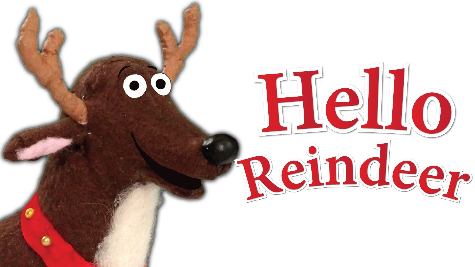Hello, Reindeer   Children's Christmas Song. A great way to start holiday lessons, parties, and ...