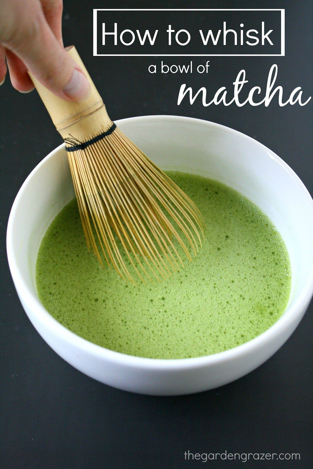 How to Whisk a Bowl of Matcha (Video!) Green tea recipes