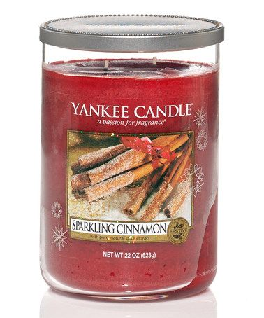 Take a look at this Sparkling Cinnamon Circular Scented Candle by Yankee Candle on #zulily today!