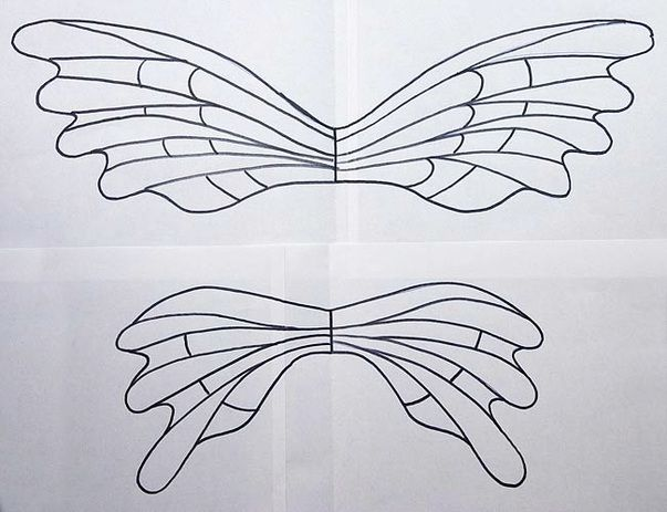 Fairy wing template