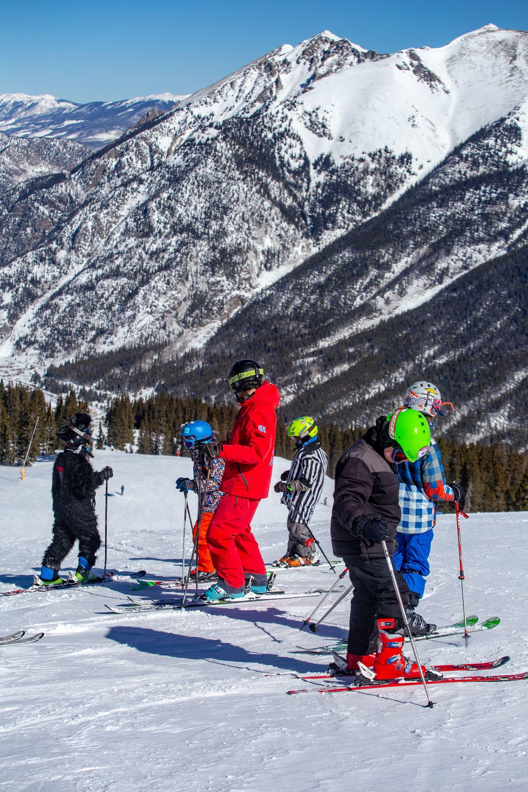 Copper Mountain Ski Ride School Colorado Ski Resort Learn To Ski Learn To Ride Ski Lessons Ski Learni Copper Mountain Ski Skiing Lessons Ski Instructor