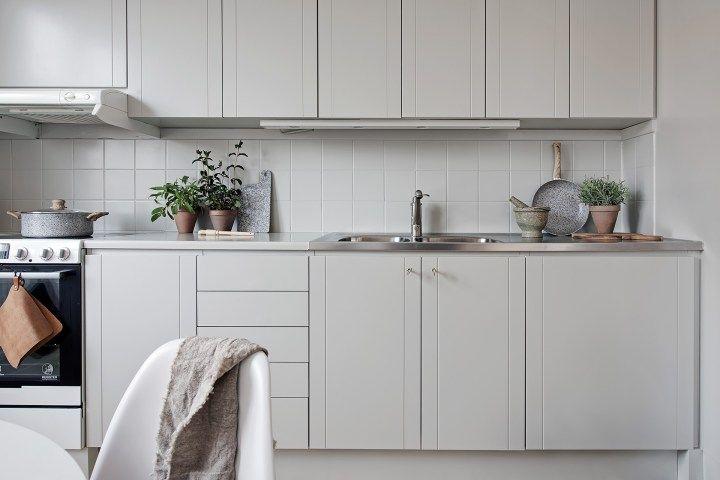 Apartamento En Colores Neutros Usados A La Perfeccion Cocinas De
