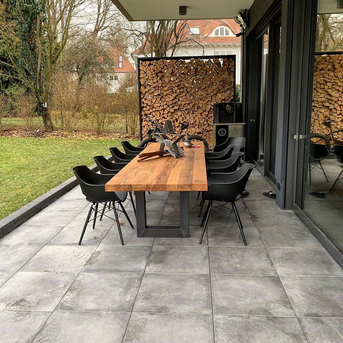 Massivholztisch Esstisch Outdoor Table Tisch Terrasse www