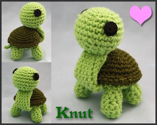 Amigurumi Turtle : Crochet turtle by walkonred on deviantart oh how i want to