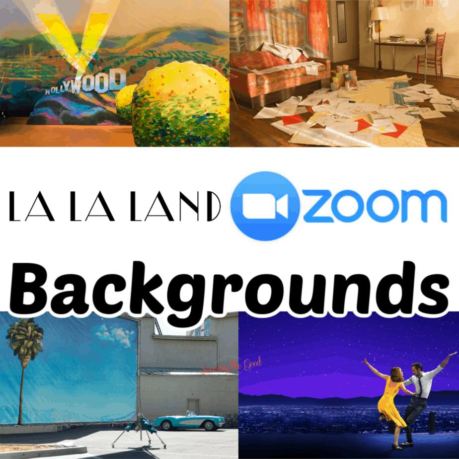 Free Zoom Backgrounds For Video Conferences Background Virtual Classrooms La La Land
