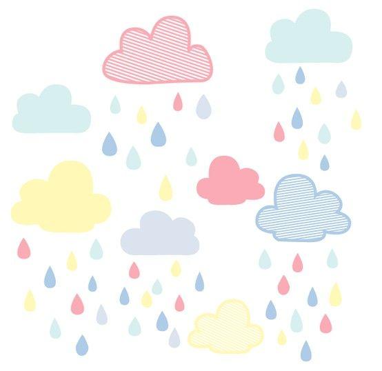 nubes con lluvia