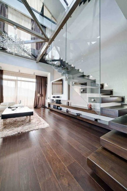 30 Different Wooden Types Of Stairs For Modern Homes Loft