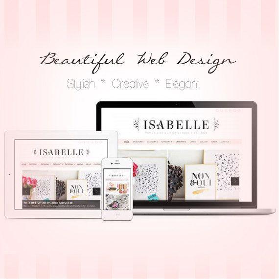 Shabby Chic Logo Web Designer On Etsy Shop