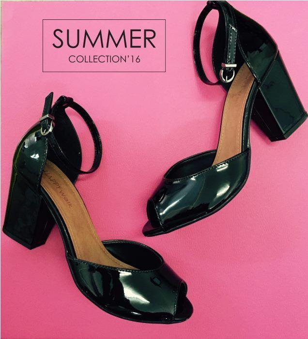 Desfile com este super lançamento Summer Collection'16: Sandália em verniz, para muitos looks arrasadores!  #HappyWalk #Lançamento #SummerCollection2016 #Sandálias