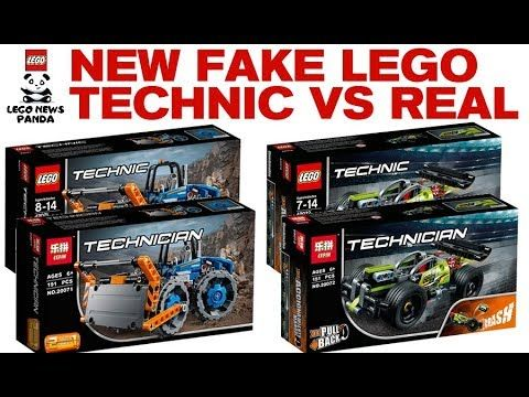 NEW LEGO TECHNIC FAKE SETS VS REAL SETS - MUST WATCH! | Lego News ...