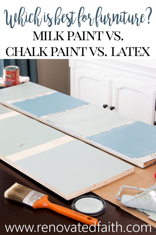 Pin On Chalk Paint Vs