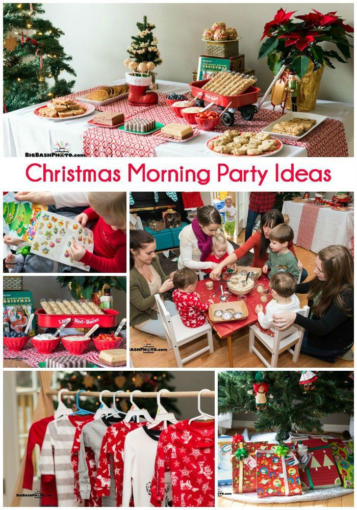 Christmas Party Ideas Christmas Morning Traditions Christmas Christmas Party