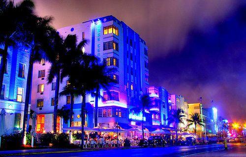 South Beach Strip Miami Fl