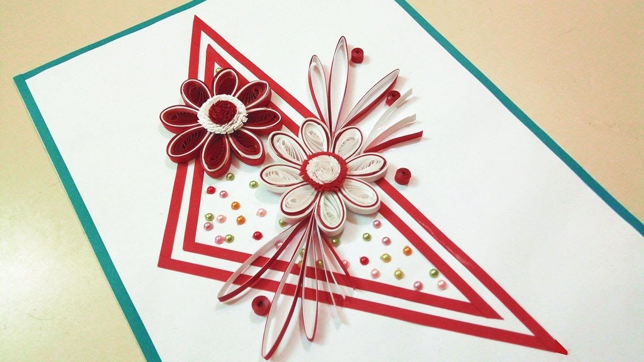 Paper Quilling Patterns For Birthday Cards Beautiful Paper Quilling