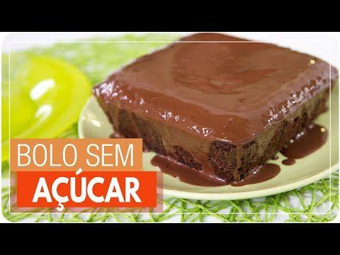 Bolo De Chocolate Sem Acucar E Sem Farinha Quadro A Receita E