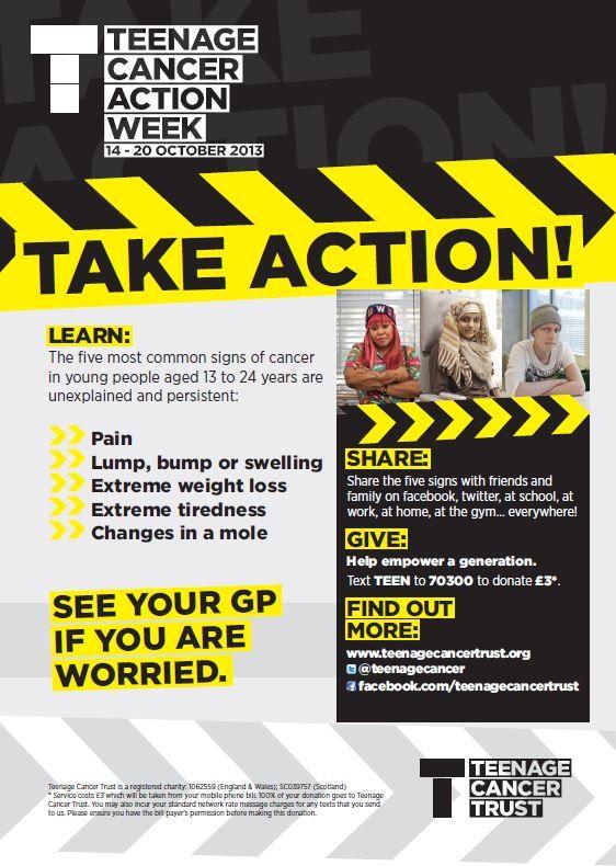 Teenage Cancer Trust - Action Week