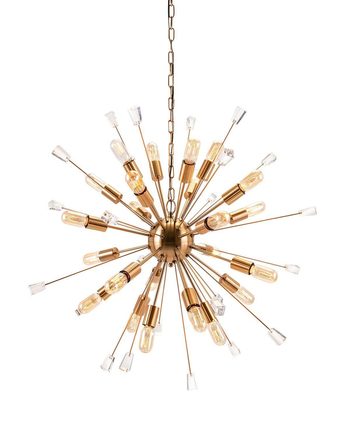 gold sputnik chandelier. Contemporary Gold Sputnik Chandelier