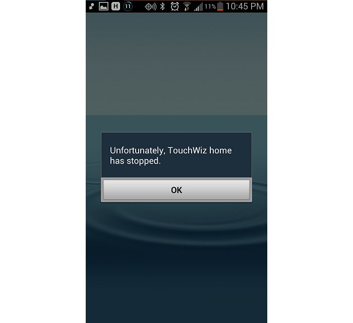 How to fix Samsung Galaxy S6 Edge Unfortunately Touchwiz Home has