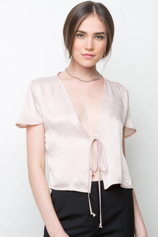 Black t shirt dress brandy melville - Brandy Melville Leesa Silky Top Silk Velvet Pieces Clothing