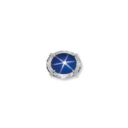 Impressive Star Sapphire Sapphire And Diamond Ring Star Sapphire Ring Star Sapphire
