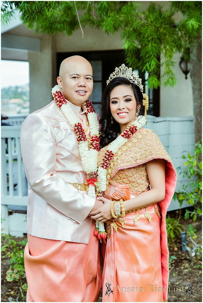 Long beach lighthouse wedding  khmer outfits by Apsara Diamant Now Booking for wedding and Special