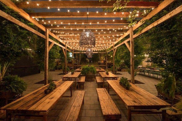 25 Amazing Backyard Garden Lighting Ideas For Outdoor Garden Gardening Gardendesign Outdoor Restaurant Patio Beer Garden Design Restaurant Patio