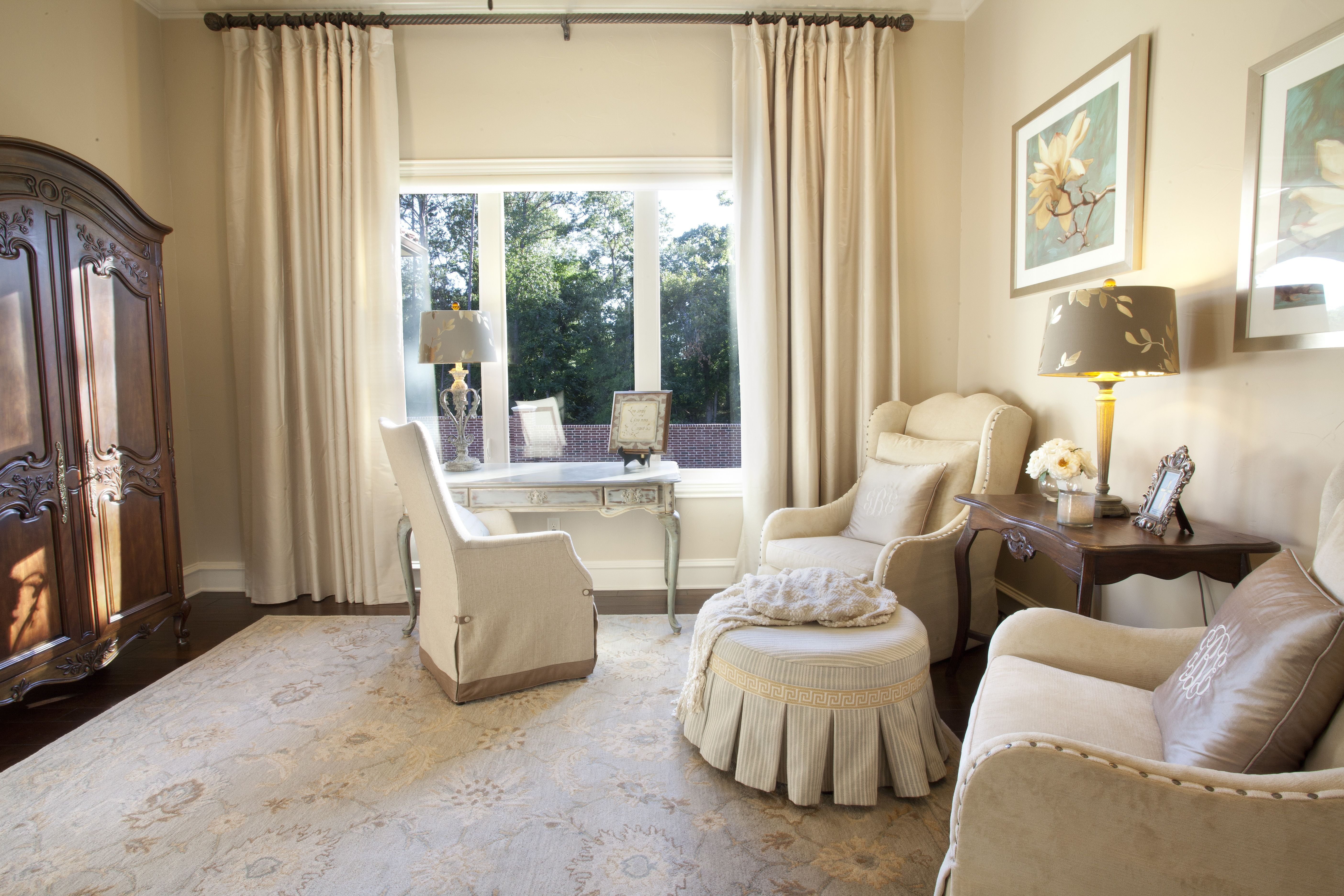 Another shoot of this Master Bedroom featured sitting area from our