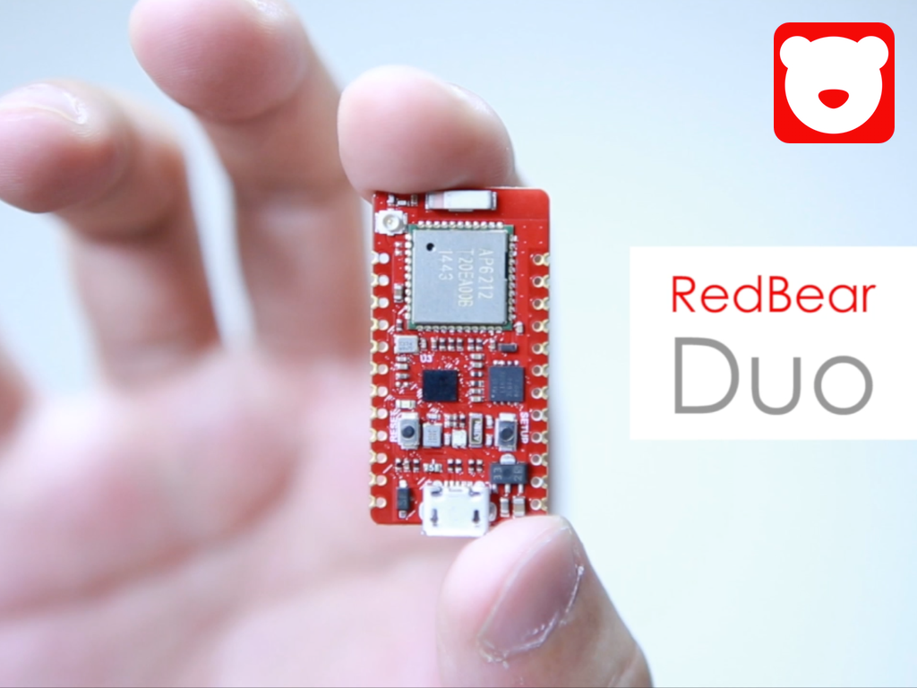 Redbear Duo A Small And Powerful Wi Fi Ble Iot Board