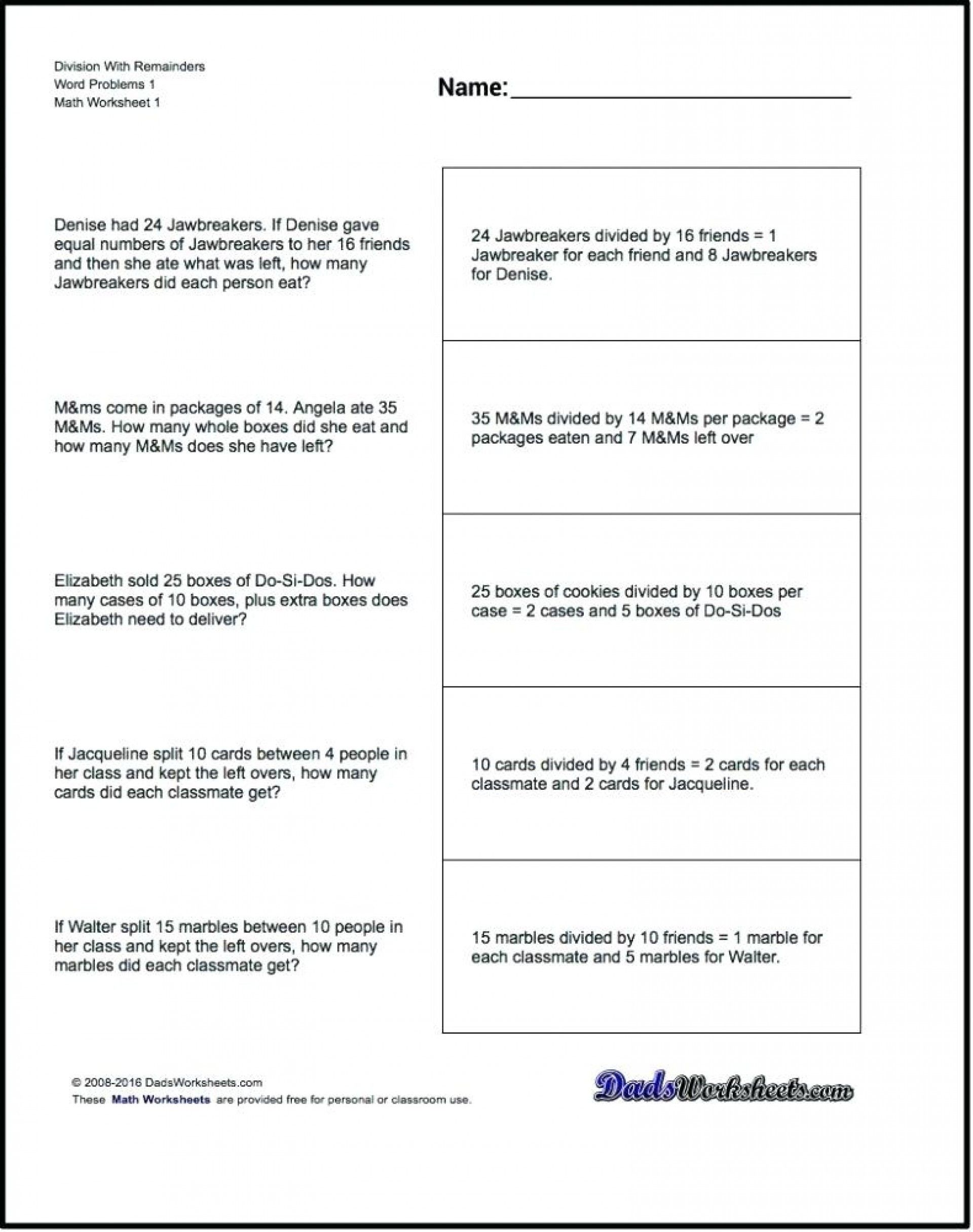 15 Decimal Multiplication Word Problems Math Worksheets