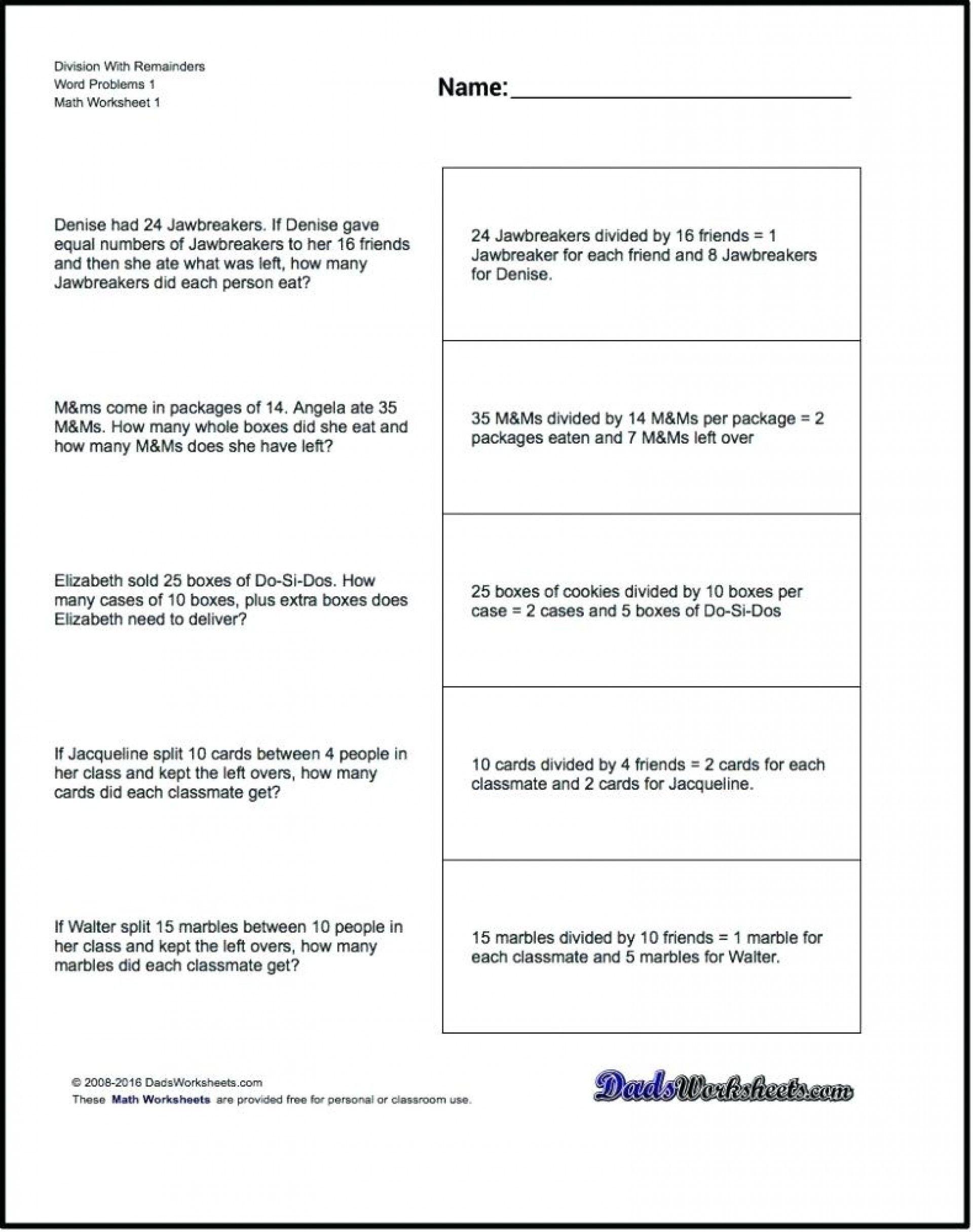 15 Decimal Multiplication Word Problems Math Worksheets