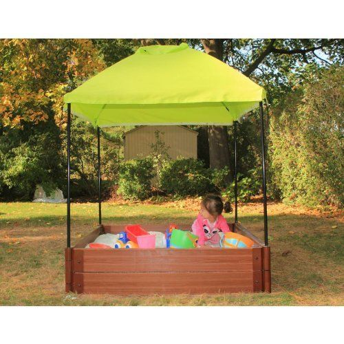Frame It All Square Sandbox with Canopy by Frame It All. $351.98 ...