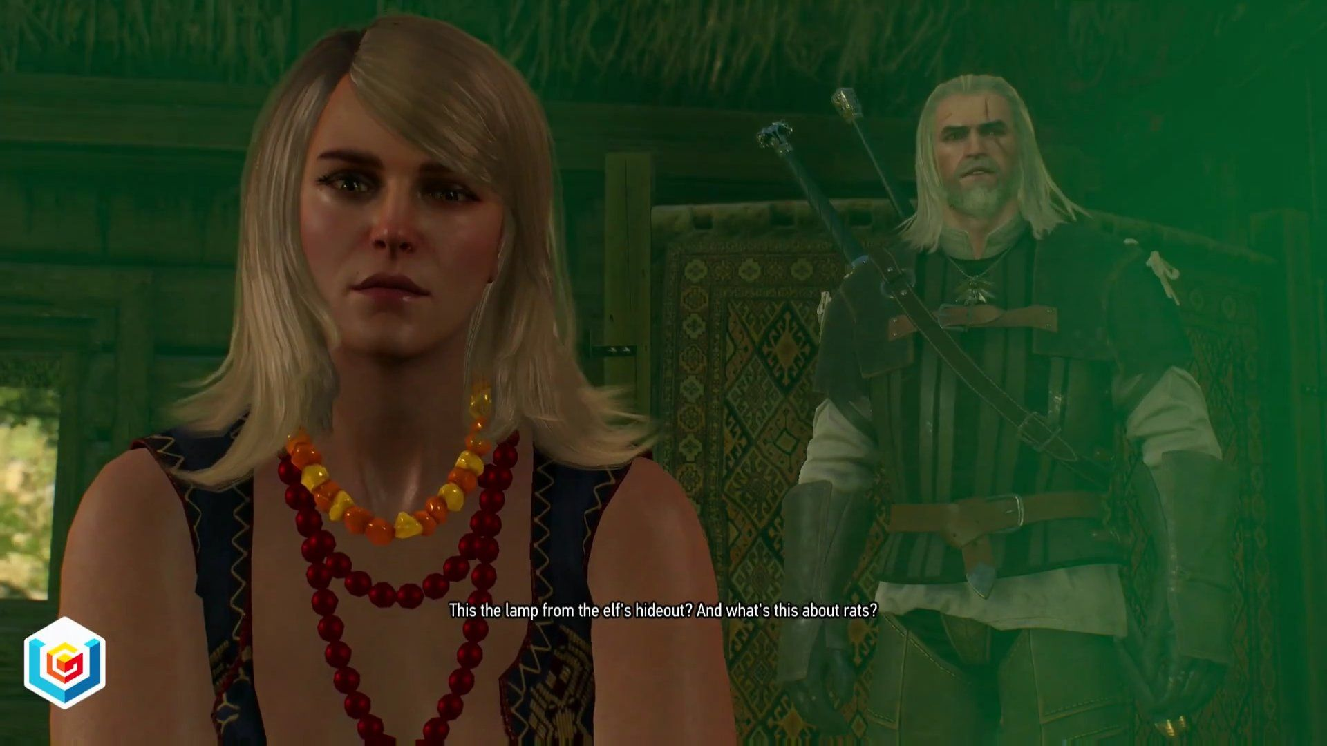 The Witcher 3 Wild Hunt An Invitation from Keira Metz