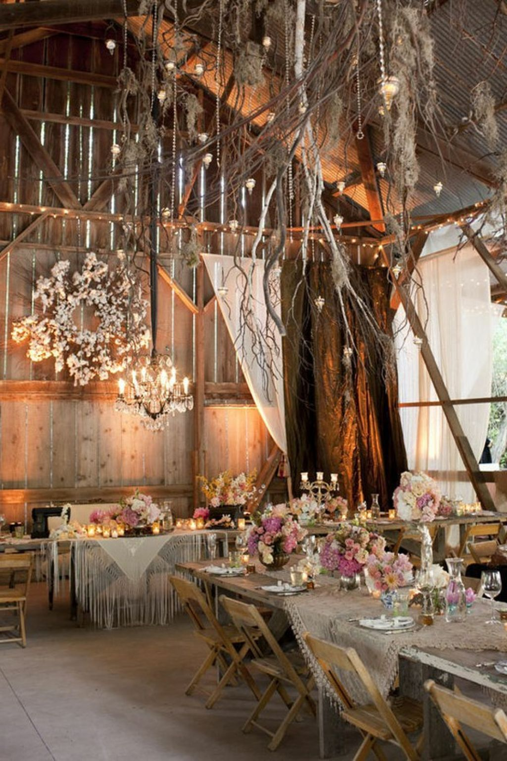 Barn Wedding Decorations Ideas On With 30 Chic Rustic Tree Branches 10 The Best Image Gallery In World