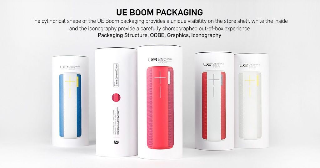 NONOBJECT | UE Boom Packaging