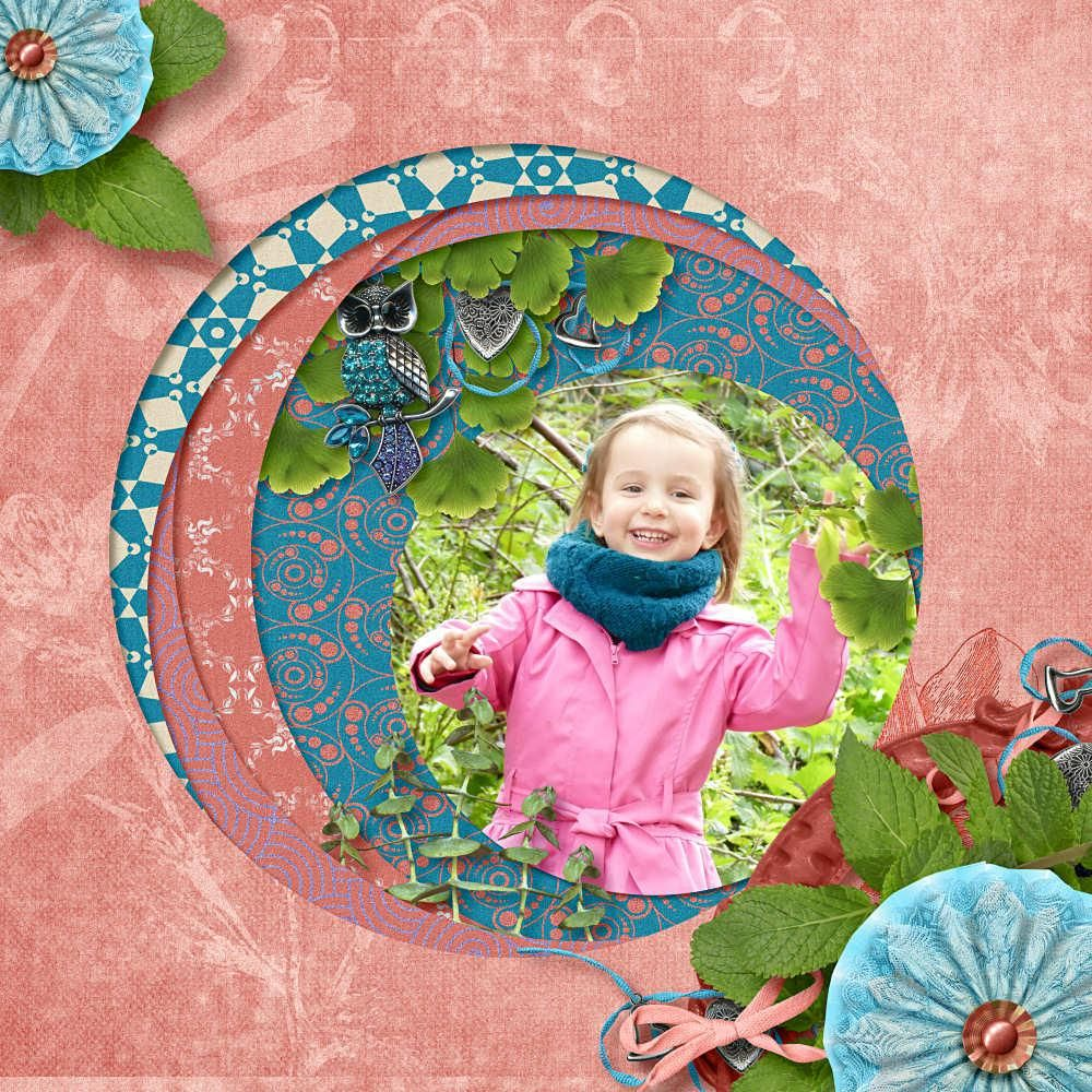 """kit """"May Flowers"""" by PrairieSongScrap https://www.digitalscrapbookingstudio.com/personal-use/kits/may-flowers/ template 42 by Cocotounette"""