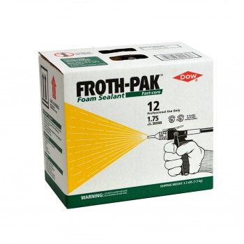 Dow Froth Pak 12 Spray Foam 308900 For 35 99 5 Off And Free