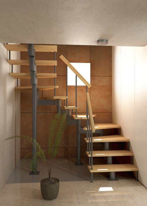 f/ácil de Instalar escaleras barandillas 0 Poteaux balc/ón Incluye escaleras para escaleras de Acero Inoxidable Rampa de Escalera 100 cm GOTOTO
