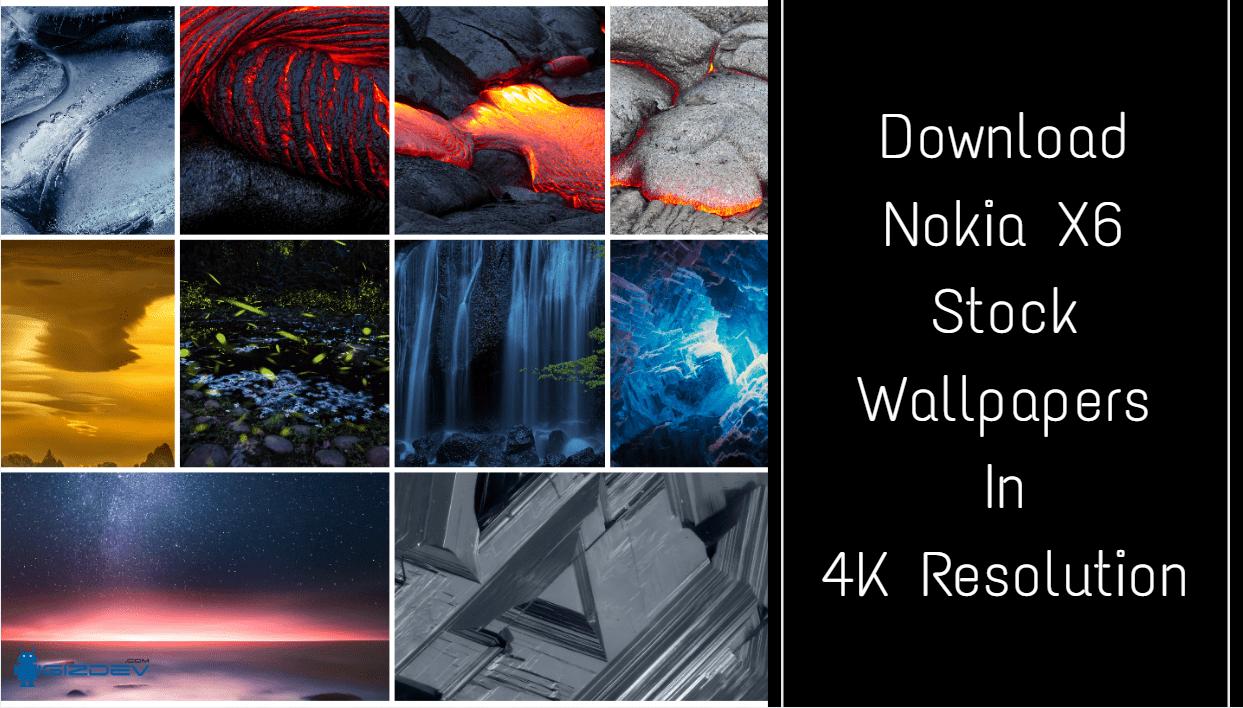 Download Nokia X6 2018 Stock Wallpapers In 4k Resolution Stock Wallpaper Nokia Wallpaper