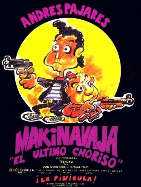 Makinavaja El Ultimo Choriso 1992 By Carlos Suarez Peliculas Completas Peliculas Barrio Bajo