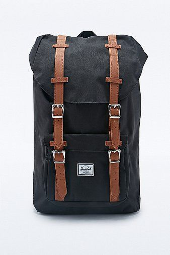 Herschel Supply Co Little America Backpack In Black Purses And Bags Bags Purses