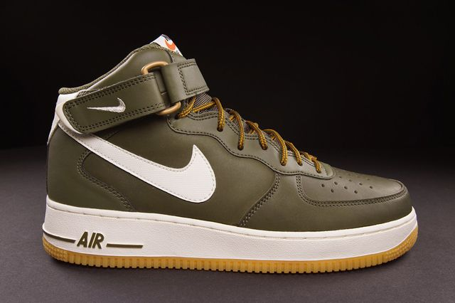 Nike Air Force 1 Mid (Medium Olive) - Sneaker Freaker