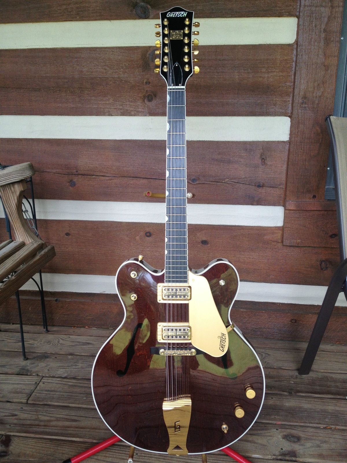 gretsch 12 chet atkins country gentleman 12 electric guitar lansing 39 s world of fabulous guitars. Black Bedroom Furniture Sets. Home Design Ideas