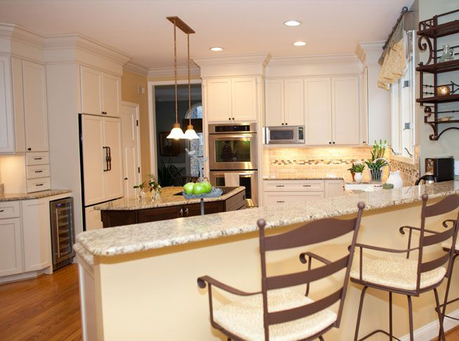 enhance the soffit above your kitchen cabinets with ...